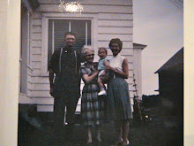 great grandparents, my mother, and my brother, m