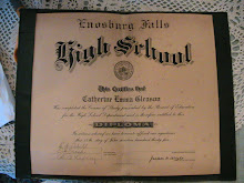 Grandma's high school diploma