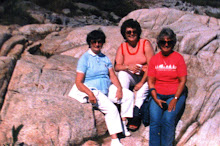 My grandmother, Aunt Susan, and my mother, circa 1980's