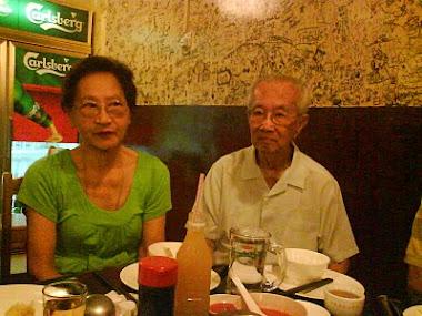 mon grandpere avec ma grandmere