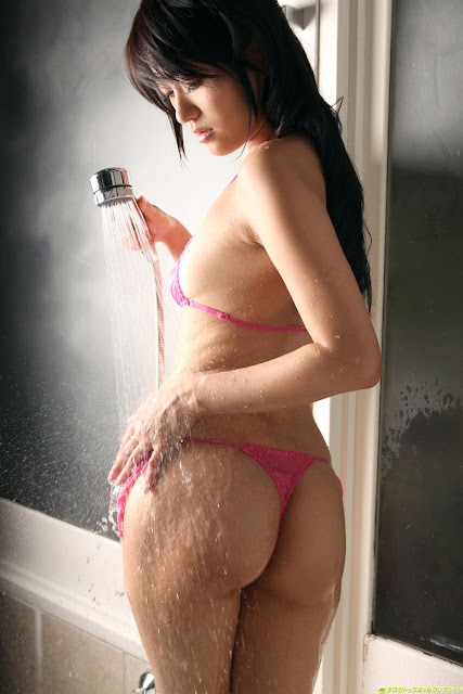 Japanese Wet Bikini Shou Nishino