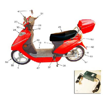 electra voy 88911 phantom iv electric scooter homepage forum rh electravoy blogspot com E Scooter Wiring Diagram 50Cc Scooter Electrical Diagram