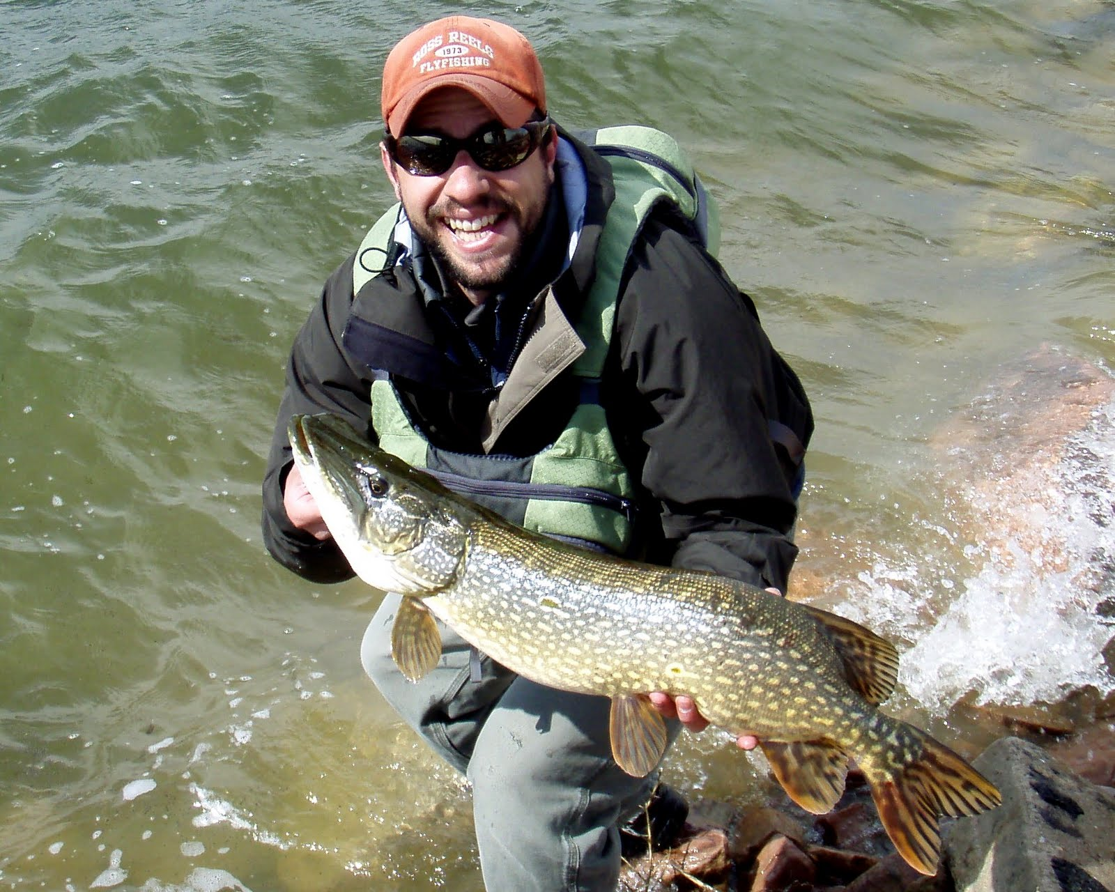 colorado fly fishing reports find fall pike in deep water