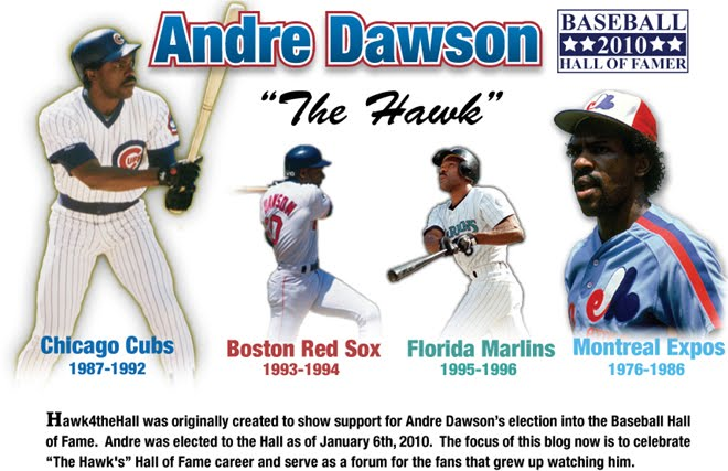 Andre Dawson - Baseball Great, Hall of Famer 2010