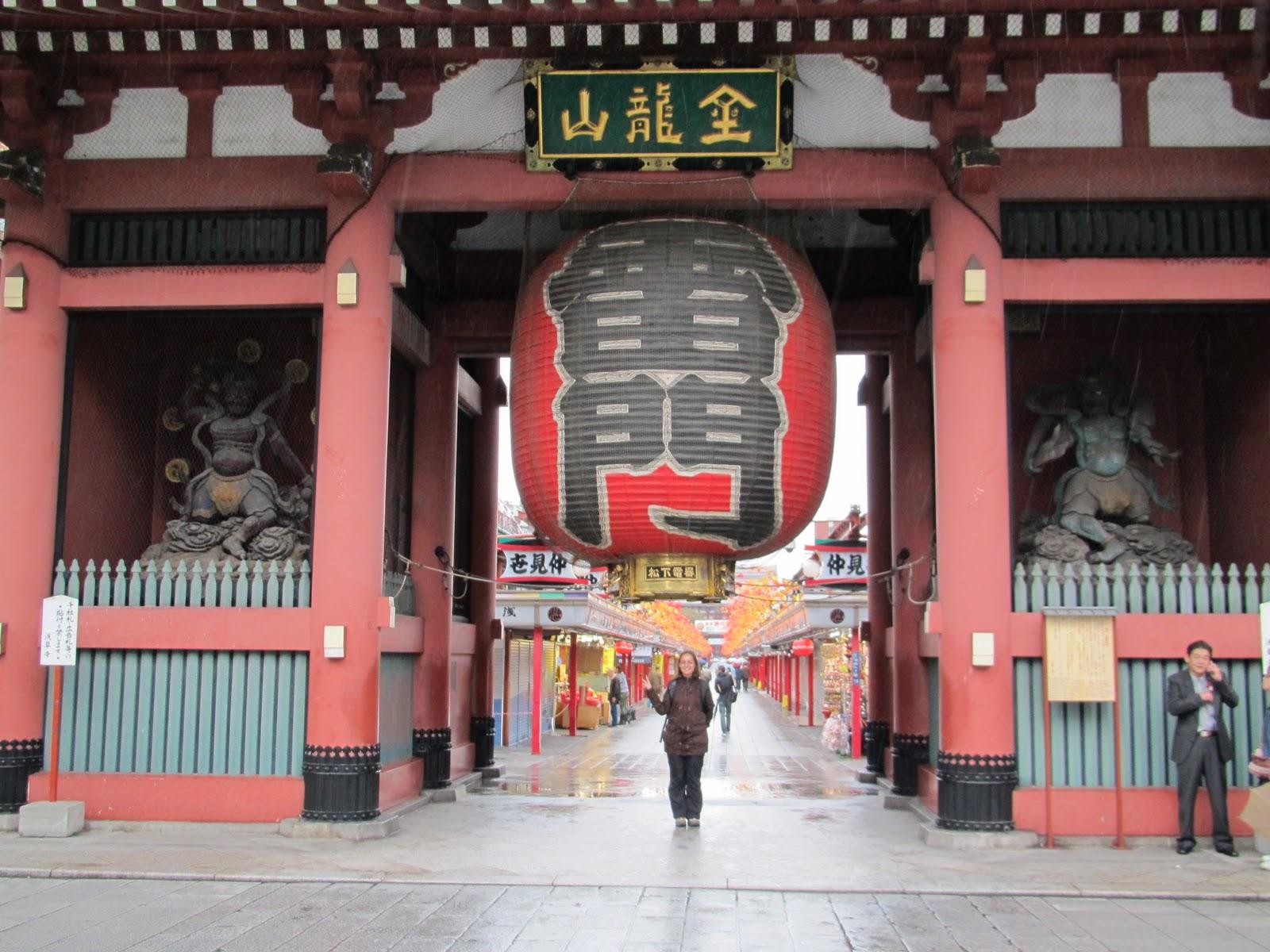 D a 1 asakusa y odaiba parte 1 todo un mundo por for Puerta kaminarimon