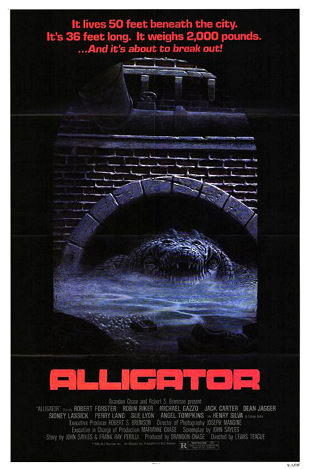 Alligators In The Sewers. ALLIGATOR (1980)