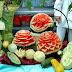 El arte de decorar frutas y verduras