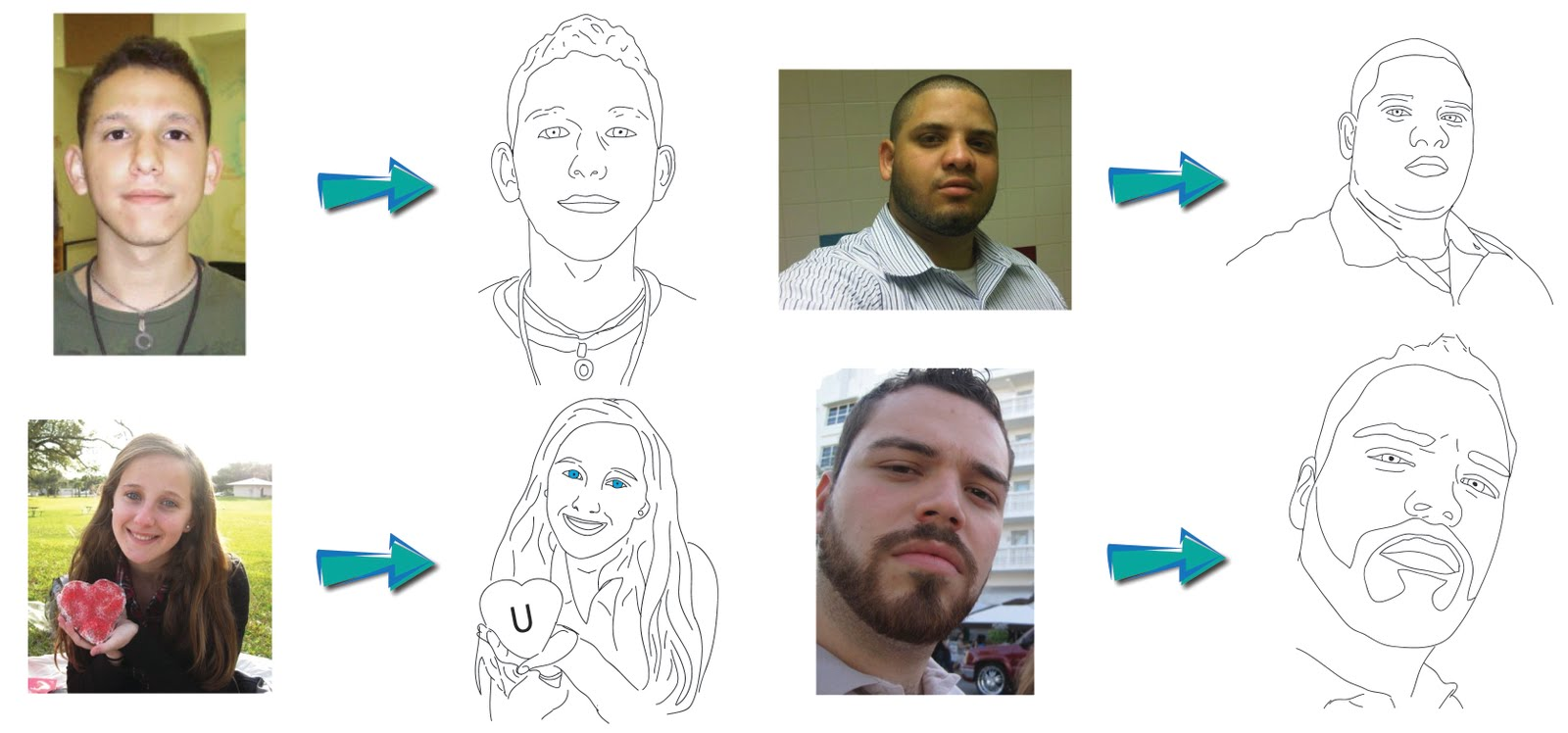Line Drawing Of Yourself : Sketch yourself unique profile pic
