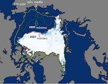 Deshielo del Ártico...y Antártico.