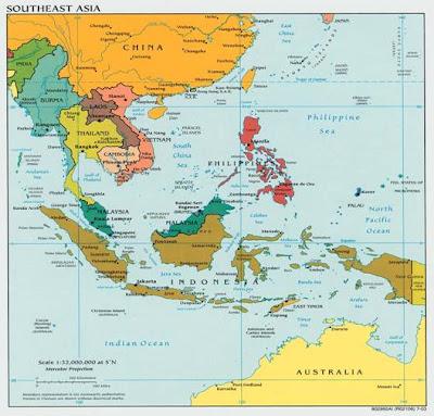 Peta Asia Timur