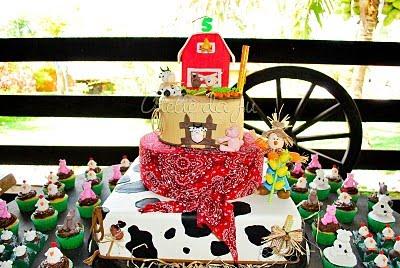 idea para La Celebración de un cumpleaños, la vida en una granja
