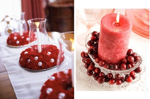 De Mesa De Navidad Sencillos Con Flores Articulo Centros De Mesa De