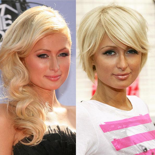 Cute Short Bob Hairstyles for Girls Paris Hilton 2011 Hollywood