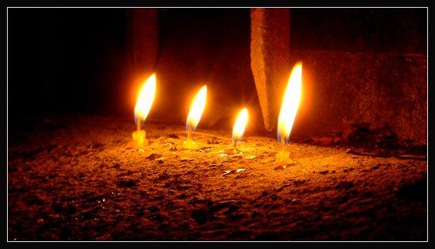 Ритуал свеча на окне