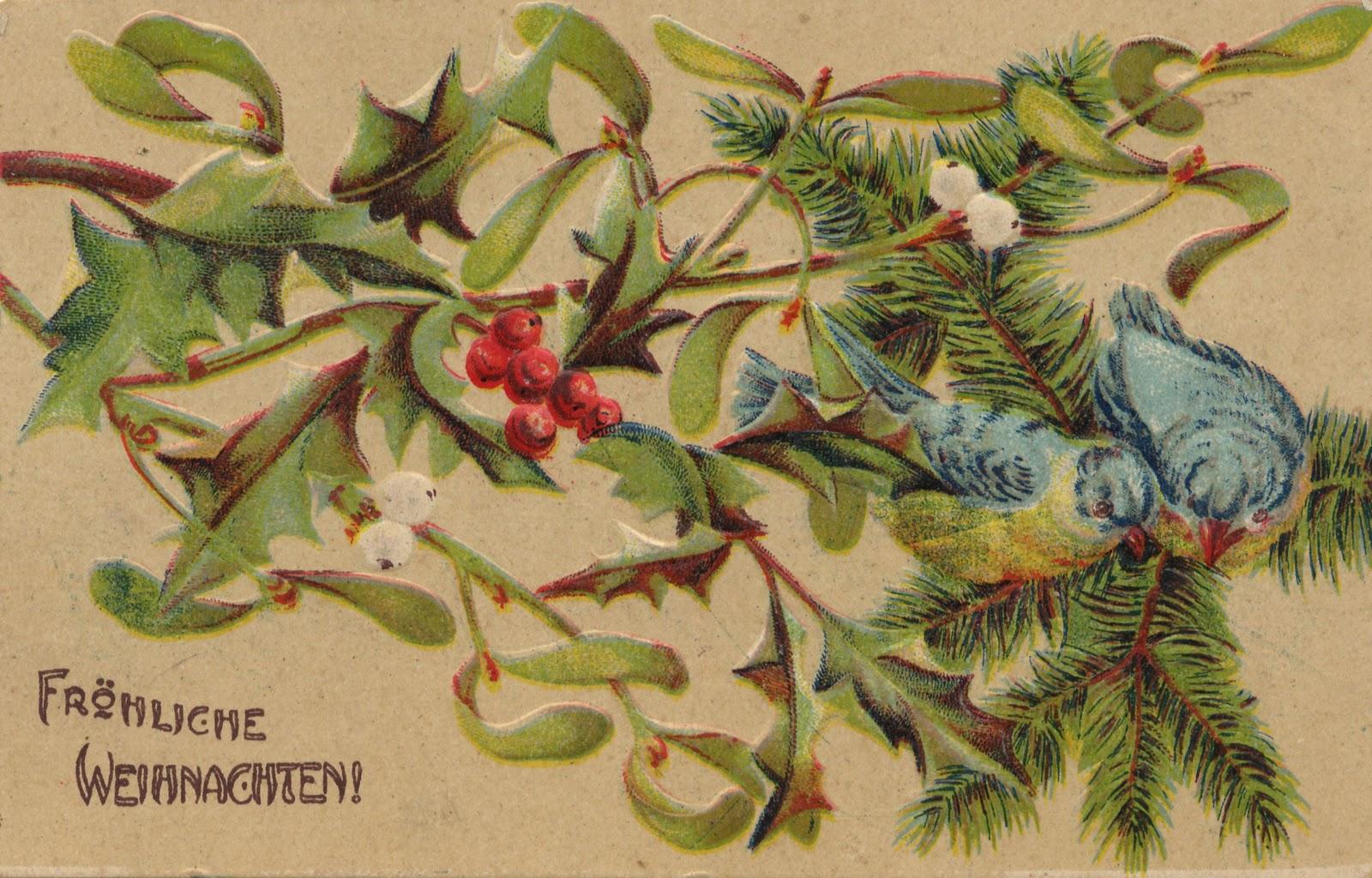 Открытки по немецкому к рождеству