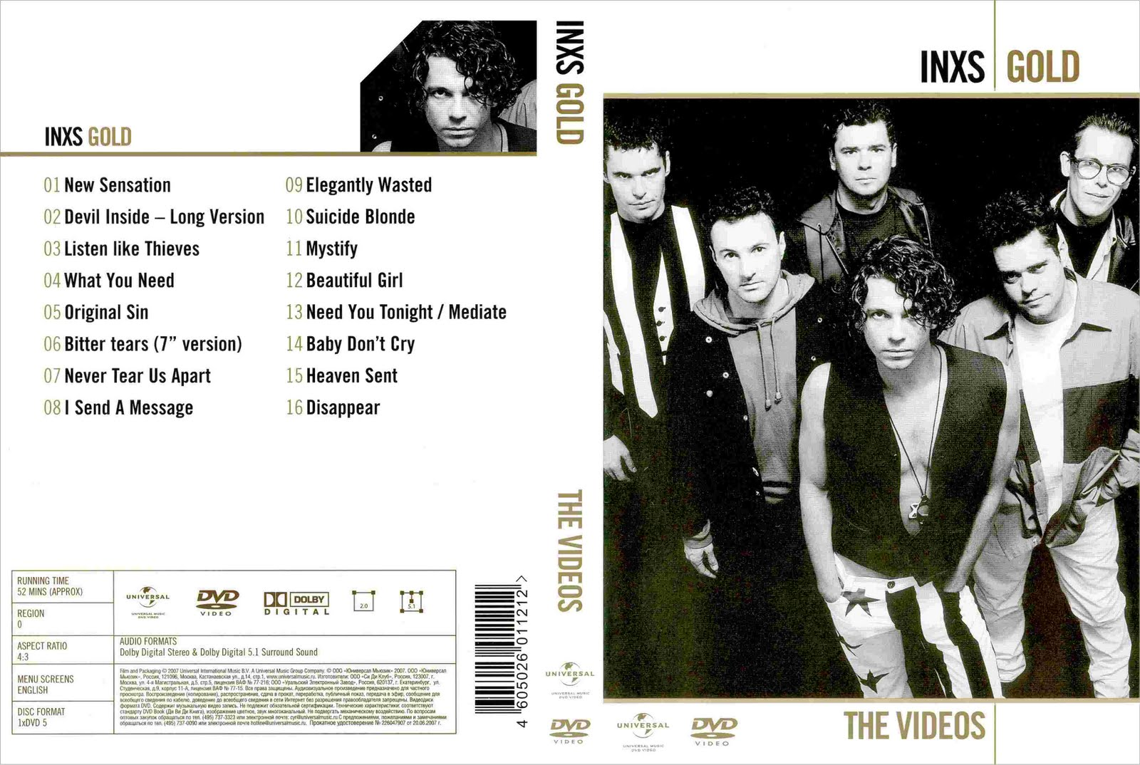 Listado De Dvd Musicales Peliculas Discografias Inxs