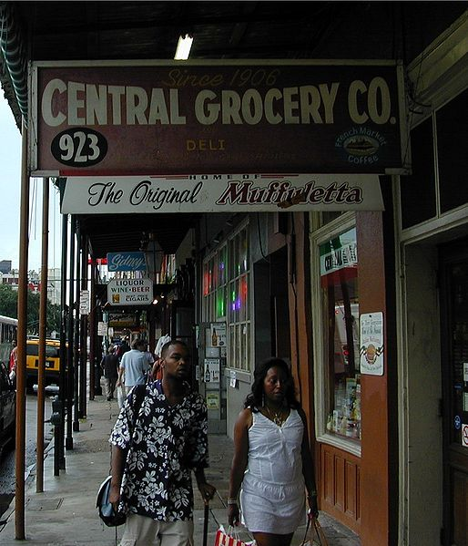 ... Ho!: Central Grocery New Orleans,Louisiana And The Muffuletta Sandwich