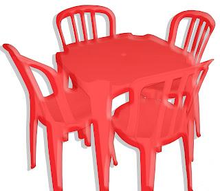 Aluguel de mesas e cadeiras de plástico - Ribeirão Preto SP