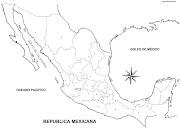 Mapa de México con divisiones políticas. Publicado por Arly Herrera en 15:54 mapa de mexico sin nombres