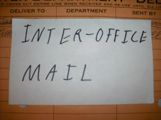 inter-office mail