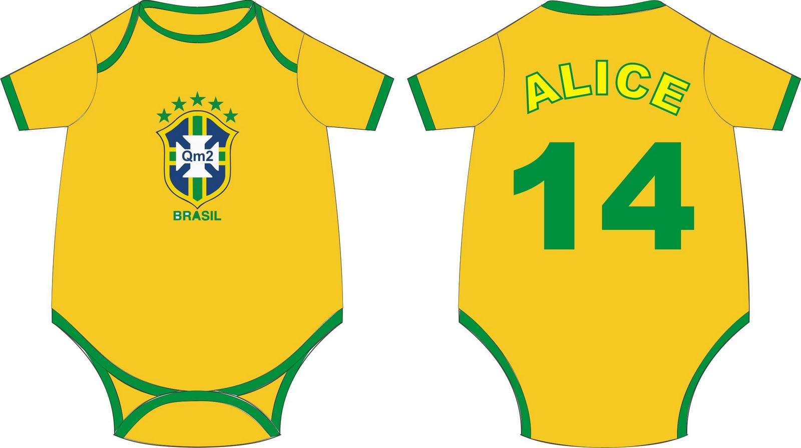 Body do Brasil personalizado