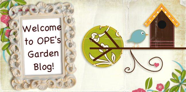 OPE's Gardening Blog