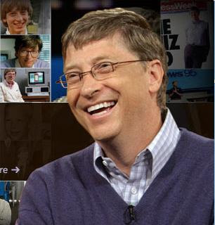 Bill Gates laughs at you