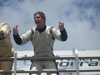 [Clic para agrandar - Mauro Giallombardo y su Falcon, campeones 2008 del TC Mouras - fotos de su sitio oficial]
