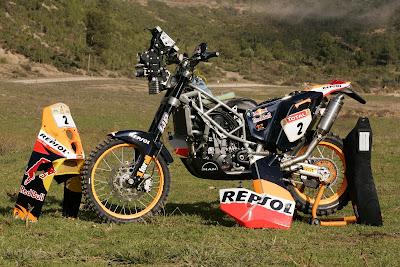 [Clic para agrandar - Todos los secretos de la KTM 690 Rally - Rally Dakar Argentina - Chile 2009 - automOndo.com.ar]