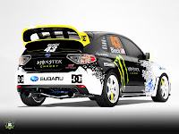 [Clic para agrandar - Ken Block Subaru Impreza WRX STi - automOndo.com.ar]