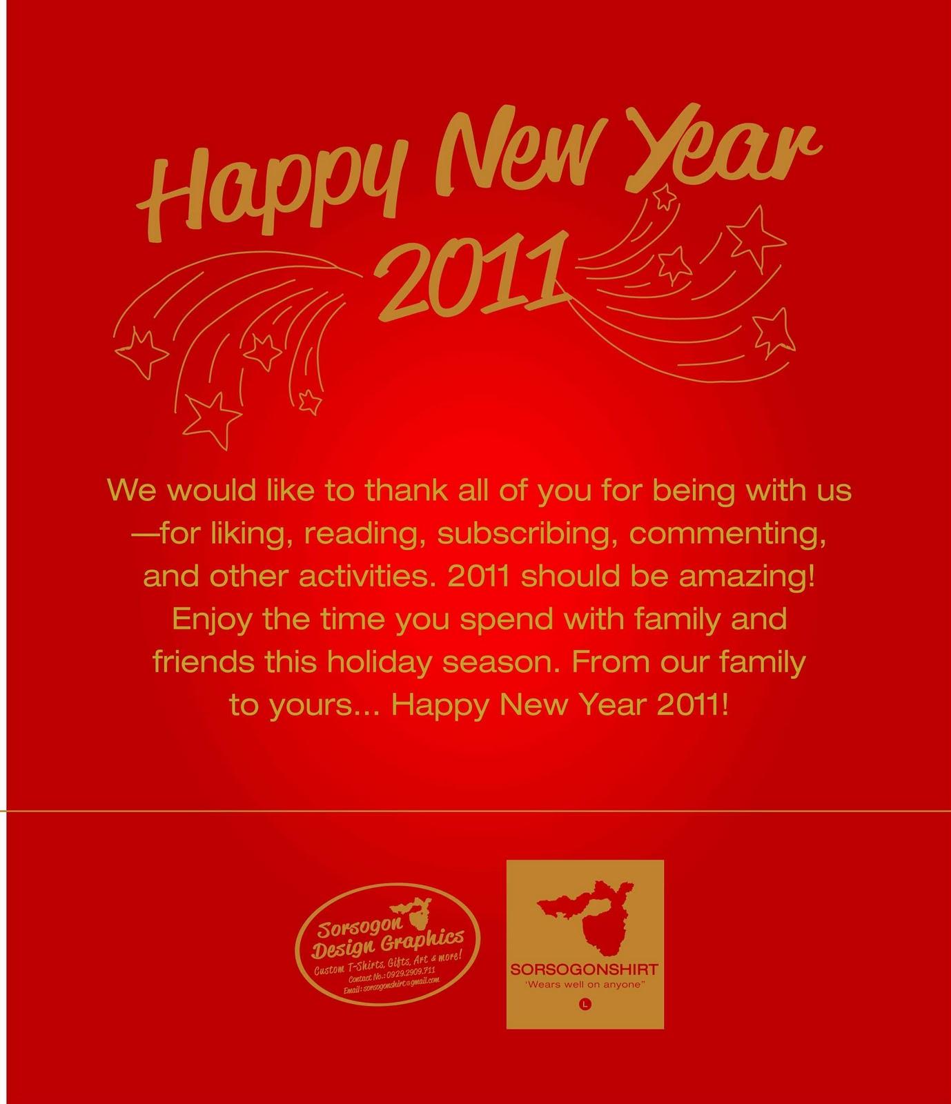 Happy New Year Everyone Sorsogonshirt
