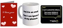 Cards, Mugs &amp; Mousepads