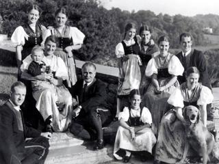Sound of music the real von trapp family