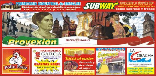 Revista Proyexion Guaymas
