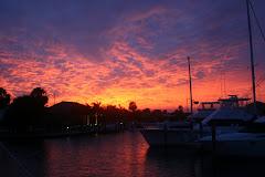Sunset @ the Isles Yacht Club
