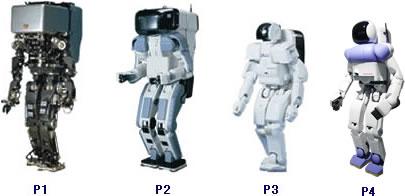 Prashantsharma asimo evolution from 1993 p1 to 2010 p4