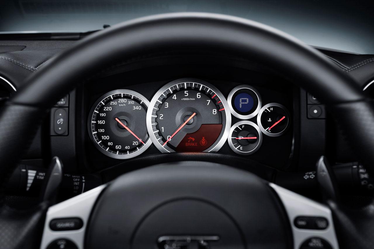 2008 Nissan GT R Interior