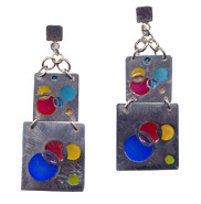 Aretes Burbujas   Bubble earrings