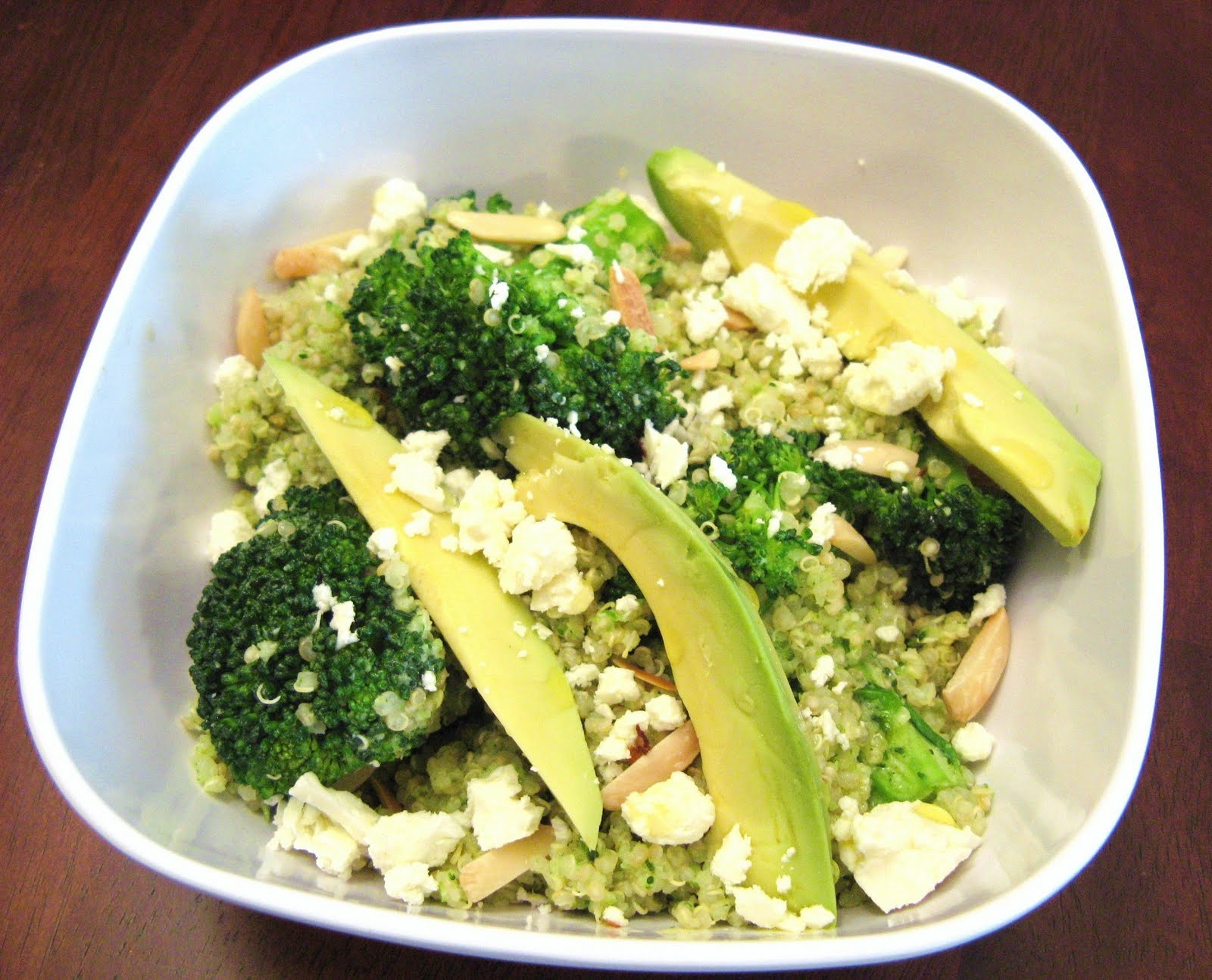 The Well-Fed Newlyweds: Double Broccoli Quinoa