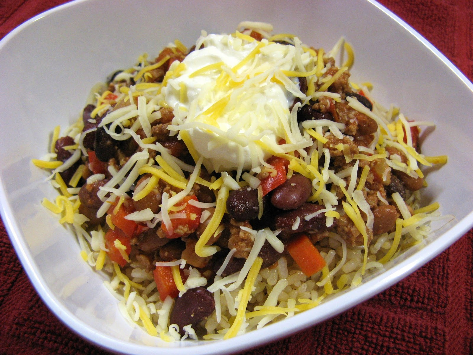 The Well-Fed Newlyweds: Three Bean and Beef Chili