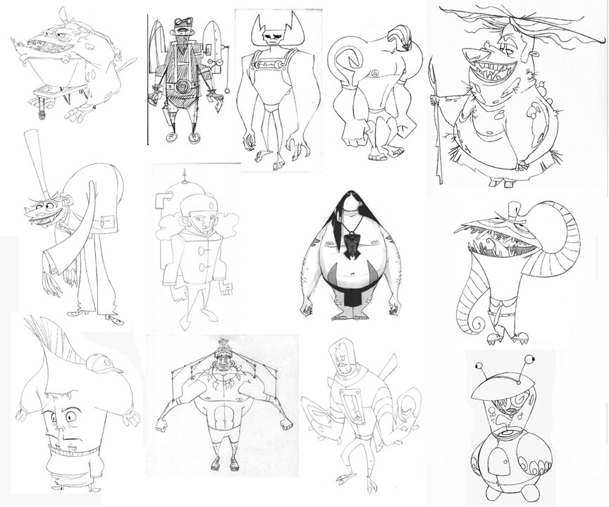 Character Design Notes Spot : Character and creature design notes ovi nedelcu