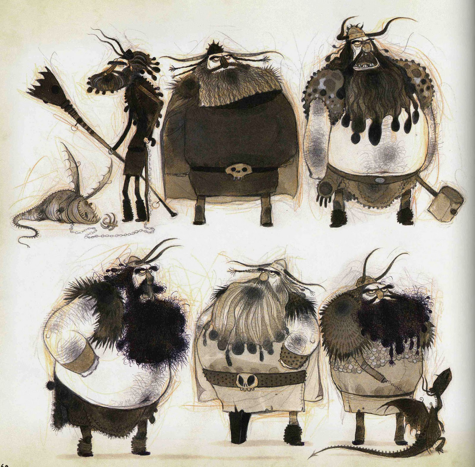Character Design How To Train Your Dragon 2 : Character and creature design notes nico marlet