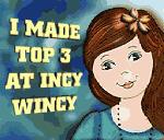'Piano' won Top 3 at Incy Wincy
