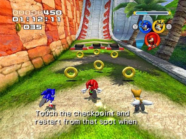 Sonic Heroes P