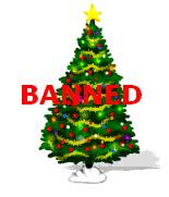 Nanny Bans Christmas Tree