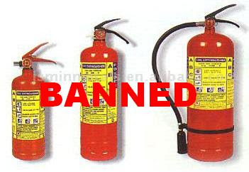 Nanny Bans Fire Extinguishers