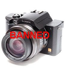 Camera ban