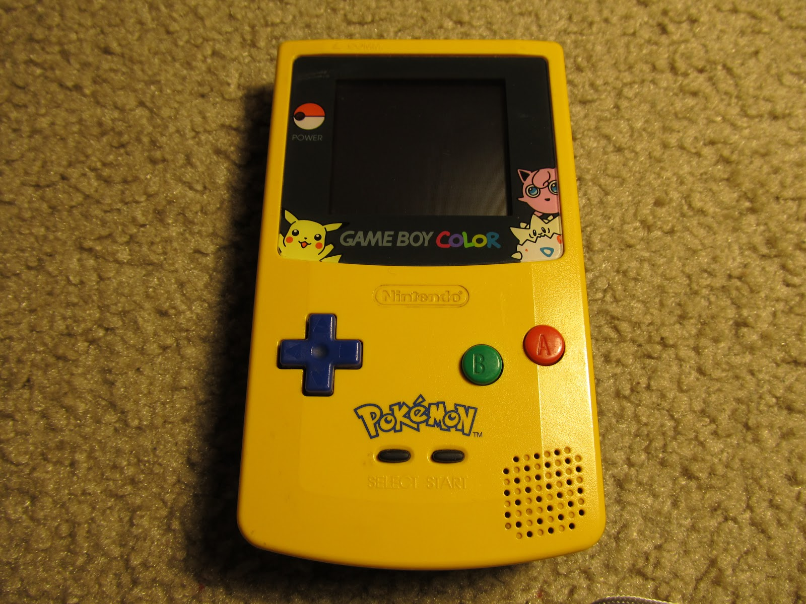 Gameboy color and pokemon yellow - Gameboy Color And Pokemon Yellow 54