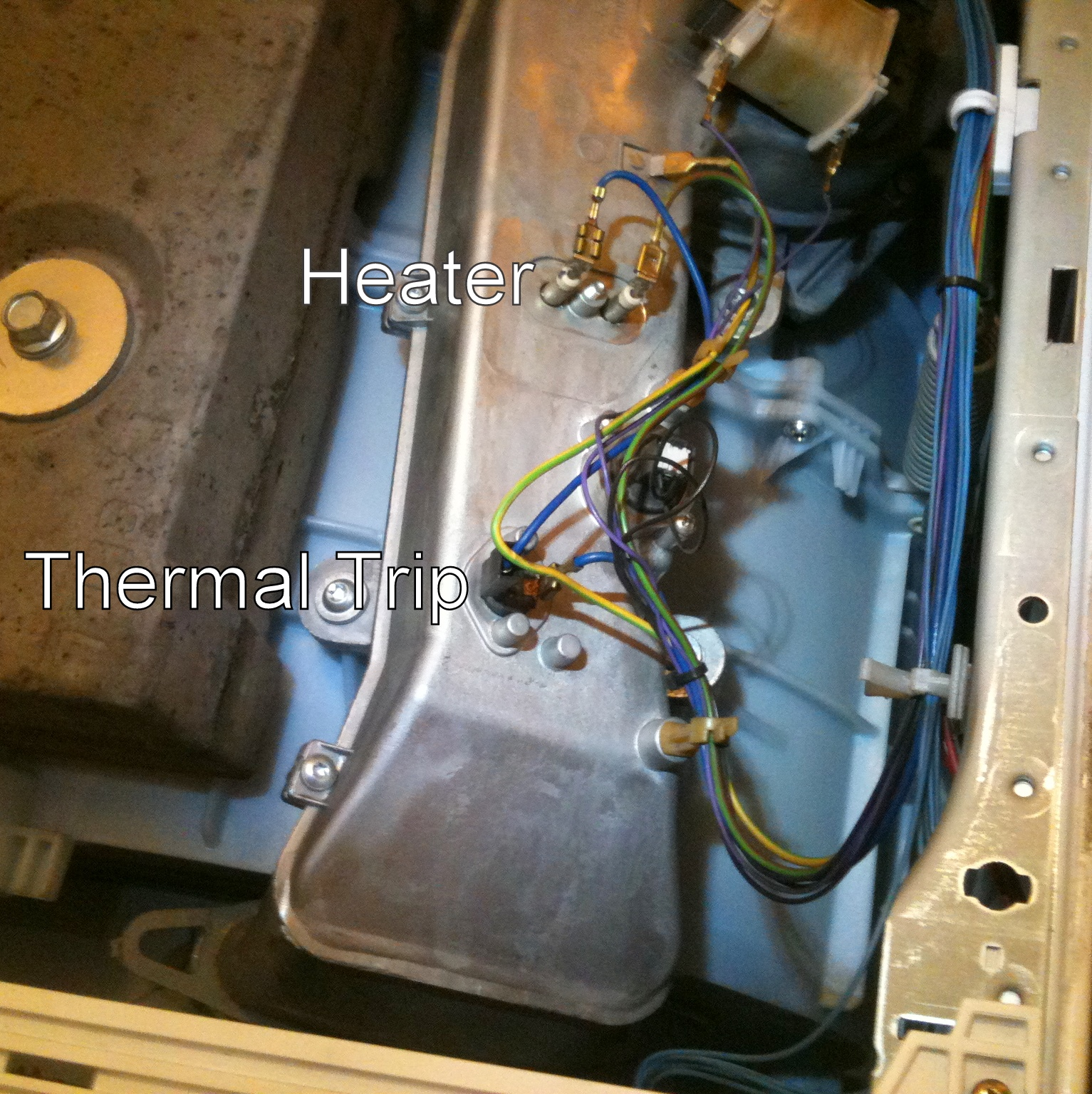 Mods bodges how to repair an hotpoint aquarius wd420or how to reassemble put it back where you found it and get the hell out of the kitchen fandeluxe Images