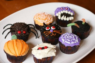 cupcakes halloween 02 » Halloween Cupcake Decorations Halloween Cupcake Ideas Halloween